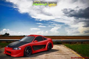 Mitsubishi Eclipse Fortune by Dupas02Designer