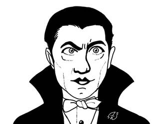 Bela Lugosi is Undead by Lunitaire