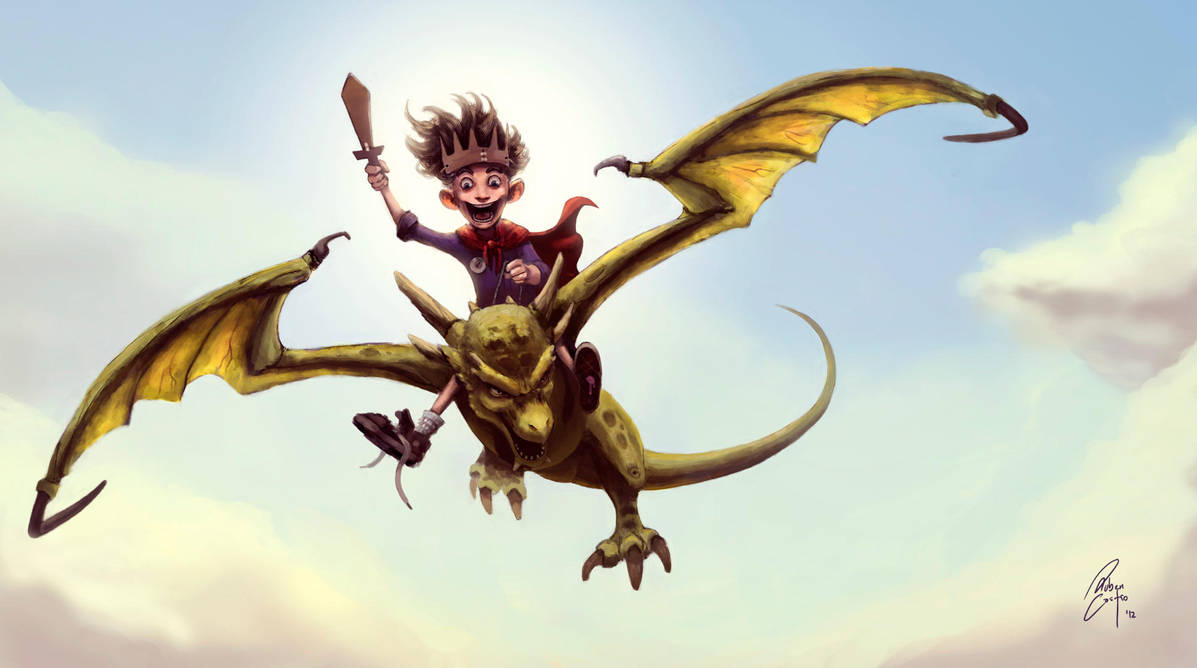 Dragon Rider by Rucalok