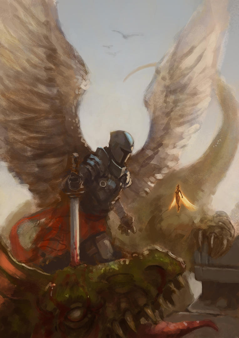 Dragon Slayer by Rucalok
