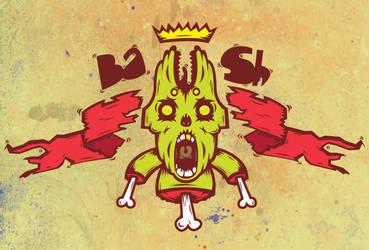 dead bunny king by halfpast10