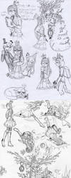 Fara in BEF-Land Sketch/Doodle AU (BEF sketch) by farahin001