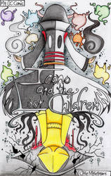 Icano and the Lost Children (My OC/LN Cover comic) by farahin001