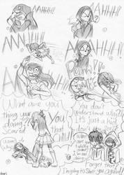 Icano and... Fara's is here??? (Mini sketch comic) by farahin001