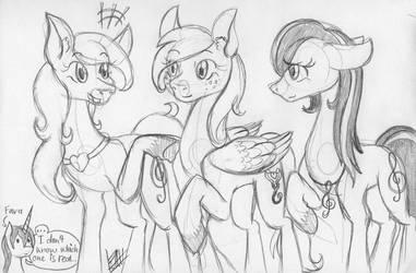 3 Vionova (Pony sketch) by farahin001