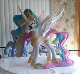 Princess Celestia Plush by EquestriaPlush
