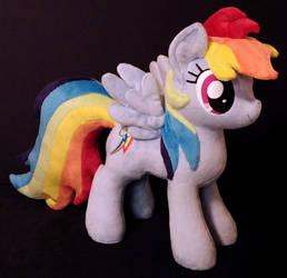 Rainbow Dash Plush by EquestriaPlush