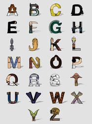 SW Alphabet by Lish0ffs