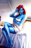 Sexy Mystique by Wesker1984
