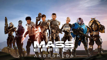 Mass Effect Andromeda - The Team wallpaper HD by Wesker1984