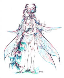 Elven Fairy by glaciesClOvEr