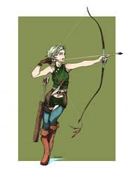 Elven Archer by glaciesClOvEr
