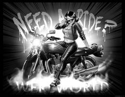Need a Ride Stranger? by Were-World