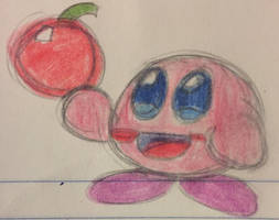 Kirby Sketch by ronekimew