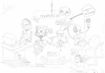 Tanuki.pl - cyber redakcyja by MayaMinamoto