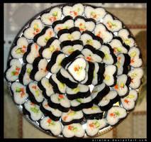 California Heart-Shaped Sushi by adorablysquish