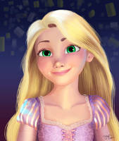 Tangled_Rapunzel by gabiFaveri