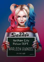 Harley Quinn - gotham by gabiFaveri