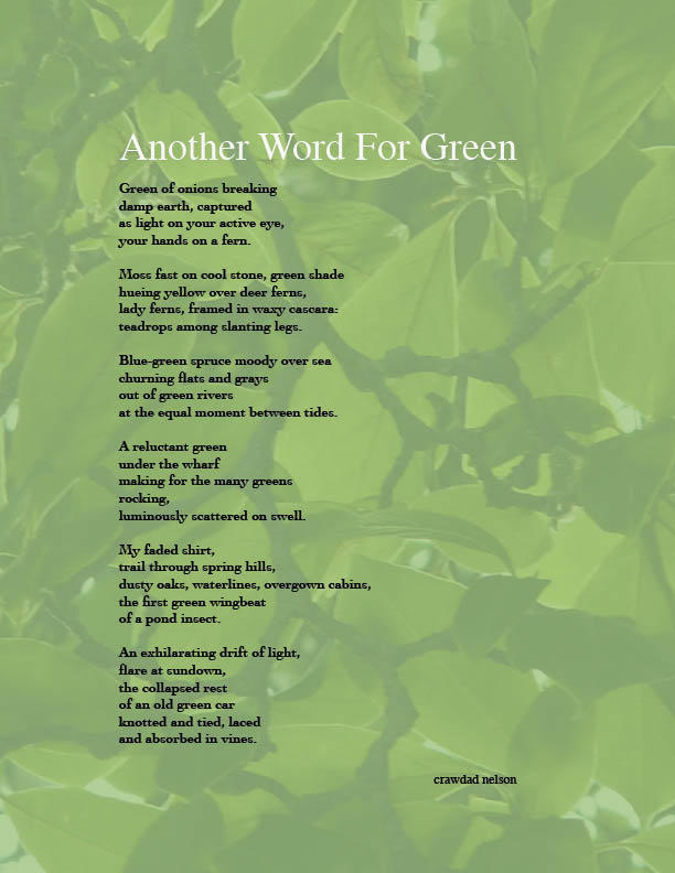 Another Word For Green By Crawdad On DeviantArt