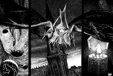 A sote'tse'g lako'ja/ Haunter of the Dark by vsqs
