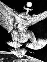 Proktuidris. Kaiju from deep space by vsqs