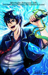 Blue Exorcist: FOR Anime north lottery artist alle by michellescribbles