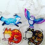 necklaces by michellescribbles