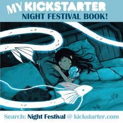 Post7 Night Festival Kickstarter by michellescribbles