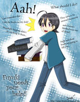 Fuyuki needs your help by tsukkaomi