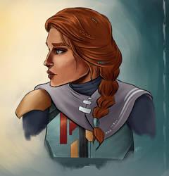 Sihna - Mandalorian Character Update by Kadira7211