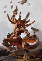 Earth Colossus by artofeli
