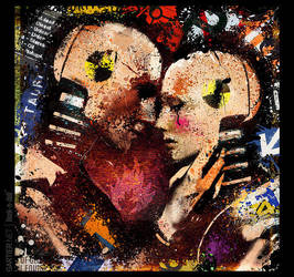 THE KISS AFTER CRASH by gartier