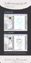 Coloring Walkthrough by Owl-pudding