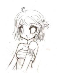 Random Girl Sketch 01 by NigthmareSakura
