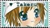 Takeru Digimon 02 Stamp by NigthmareSakura
