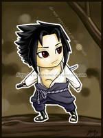 Sasuke chibi by kirokikumo