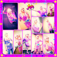 Jem Cosplay Collage by AmmieChan