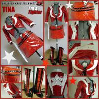 Tina Armstrong Rockstar Costume C4 by AmmieChan