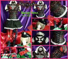Harley Quinn from Batman Arkham Knight Preview by AmmieChan