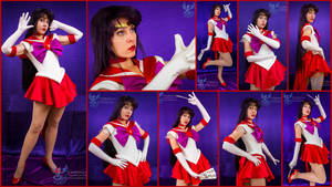 Super Sailor Mars V.2 Collage by AmmieChan