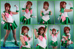 Sailor Jupiter Crystal Cosplay Collage by AmmieChan