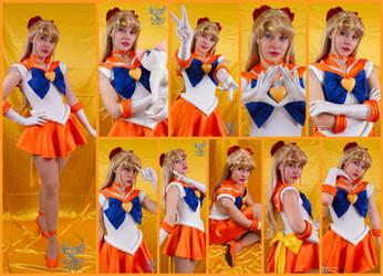 Super Sailor Venus Cosplay Collage by AmmieChan