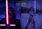 Star Wars The Force Awakens Cosplay Teaser Image by AmmieChan