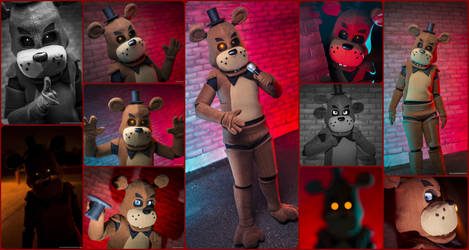 Five Nights at Freddy's Freddy Fazbear Cosplay by AmmieChan