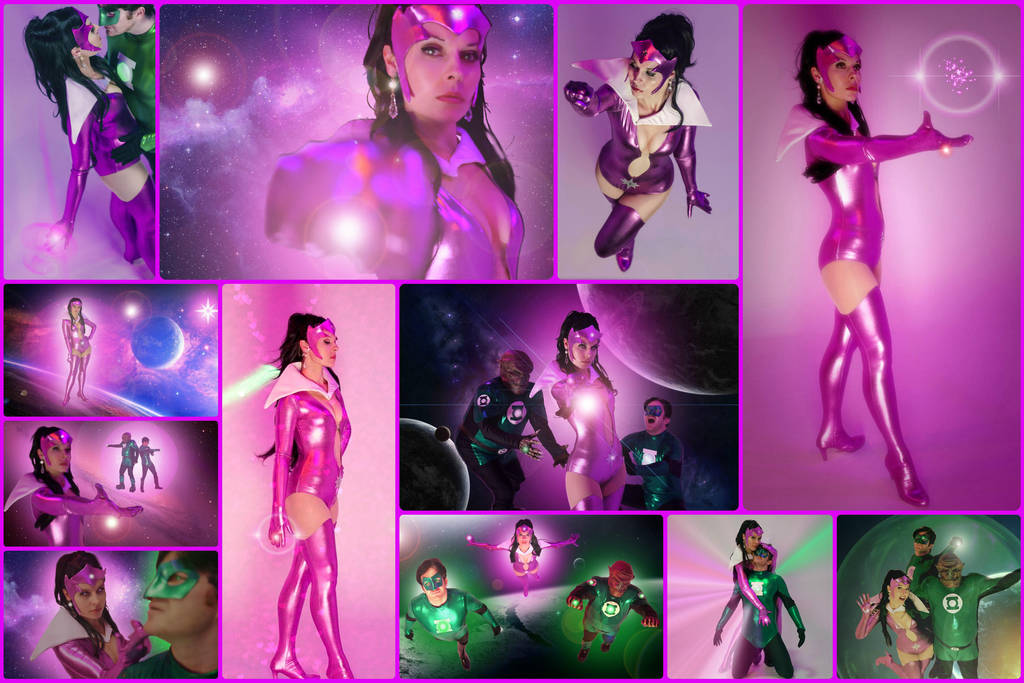 Star Sapphire Cosplay from Green Lantern by AmmieChan