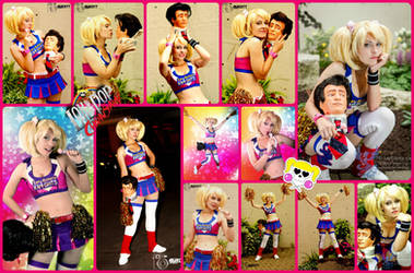 Lollipop Chainsaw Juliet Cosplay Collage by AmmieChan