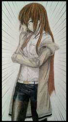 Kurisu Makise (Steins Gate) by ChanandlerBong777
