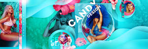 Twitter / Faebook Design - Candy Design by BlaniicDesign