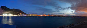 Panoramica de Gibraltar by ufinderip