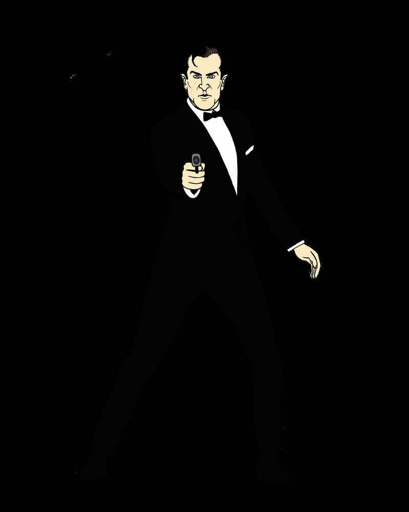 James Bond 007 by GustavoMorales